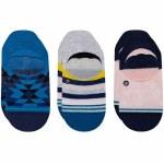 Stance Womens Avalon 3 Pack Sock-Multi-S