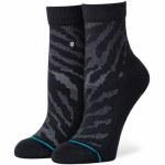 Stance Womens Eldrick QTR Sock-Black-S