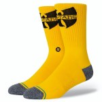 Stance  Wu Tang Protect Sock-Yellow-M