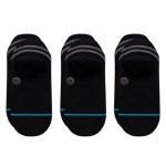 Stance Mens Gamut 2 3 Pack Sock-Black-L
