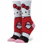 Stance Sanrio Hello Kitty Sock Womens-White-S