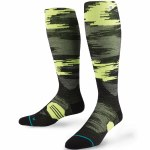 Stance Back Country Black Cinder Snow Sock-Black-M