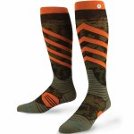 Stance Back Country Spec Snow Sock-Orange-L