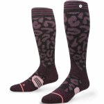 Stance Back Country Queen Snow Sock Womens-Wine-M