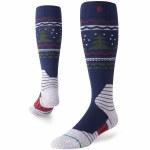 Stance Park Conifer Snow Sock-Navy-M