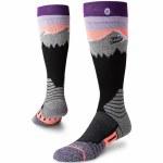 Stance Park White Caps Snow Sock Womens-Purple-M