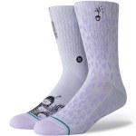 Stance Nora Loo Socks-Violet-M