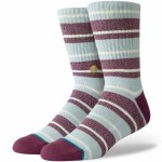 Stance Cope Socks-Maroon-M