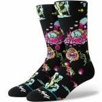 Stance Crash Landing Socks-Black-L