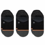Stance Womens Sensible 3 Pack Sock-Black-M