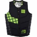 Jetpilot Shane Bonifay Comp Jacket-Black-S