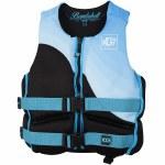 Jetpilot CCGA Bombshell Neoprene Life Vest Womens-Blue-2XL