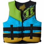 Jetpilot CCGA Firecracker Neo Life Vest Boys-Yellow-Youth
