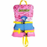 Jetpilot CCGA Pistol Nylon Life Vest Girls-Pink-Infant