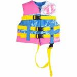 Jetpilot CCGA Pistol Nylon Life Vest Girls-Pink-Child