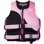 Jetpilot CCGA Bombshell Neoprene Life Vest Womens-Pink-2XL