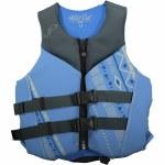 Jetpilot Wildcat Neoprene Life Vest Womens-Blue-L