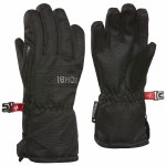 Kombi Boys Micro Pee Wee Gloves-Black-L/XL