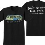 Krooked Cat Fish Short Sleeve T Shirt-Black-S