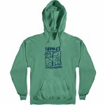 Krooked KD Ultra Pullover Hoody-Alpine Green-M