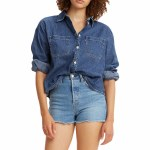 Levis Womens Celeste Long Sleeve Button-Up-Wake Up-S
