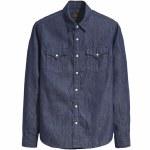 Levi's Skate Western Long Sleeve Denim Shirt-S&E Western Rinse-L