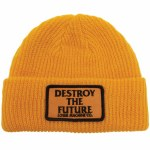 Loser Machine Mens Token Beanie-Gold-OS