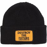 Loser Machine Mens Token Beanie-Black-OS