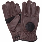 Loser Machine Mens Death Grip Gloves-Brown-L