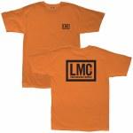 Loser Machine Mens Hardline Short Sleeve T-Shirt-Orange-S