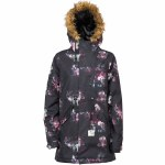 L1 Fairbanks Snowboard Jacket Womens-Rose Print-S