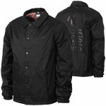 LRG Research Coaches Jacket-Black-L