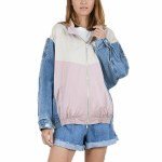 Molly Bracken Womens Woven Jacket-Pink-S
