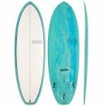 Modern Surfboards Highline PU (Polyester Contruction) Surfboard-Sea Tint-6'2