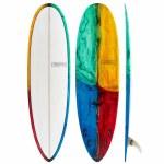 Modern Surfboards Love Child PU (Polyester Contruction) Surfboard-Kaleidoscope Tint 1-7'0