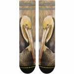 Merge4 Dave Nelson Pelican Classic Crew Sock-Brown-9/12