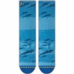 Merge4 Dave Nelson Dolphins Classic Crew Sock-Blue-9/12