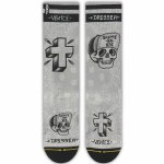 Merge4 Eric Dressen Mid-Length Sock-Grey-9/12