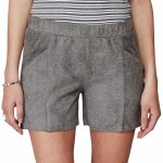 Minimum Thekla Short Womens-Grey Melange-38