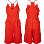 Minimum Kiri Jumpsuit Womens-Fiery Red-38