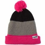 Neff Snappy Beanie-Magenta/Grey/Black-OS