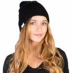 Neff Brie Beanie Womens-Black-OS