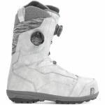 Nidecker Womens Trinity Boa FCS Snowboard Boot-Platinum Grey-8.0