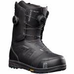 Nidecker Mens Helios Double Boa Snowboard Boot-Black-12.0