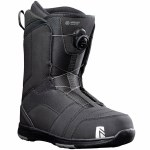 Nidecker Mens Ranger Boa Snowboard Boot-Black-14.0