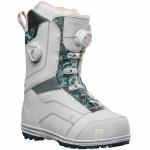 Nidecker Womens Trinity Double Boa Snowboard Boot-Arctic White-7.5
