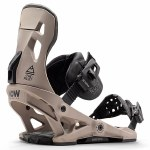 Now Bindings Mens Pilot Snowboard Binding-Sand-M
