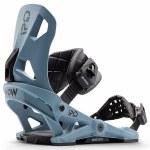 Now Bindings Mens Ipo Snowboard Binding-Blue-L