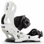Now Bindings Mens Ipo Snowboard Binding-Off White-M