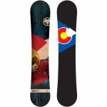 Never Summer Mens Heritage Snowboard-155